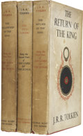 Books:Fiction, J. R. R. Tolkien. The Lord of the Rings Trilogy.... (Total: 3Items)