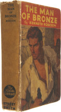 Books:First Editions, Kenneth Robeson. The Man of Bronze. New York: Street andSmith, [1933]. Presumed first edition....