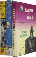 Books:First Editions, Henry Kuttner. Three Books, Two Co-Written as Lewis Padgett,including: Ahead of Time. [and:] as Lewis Padgett...(Total: 3 Items)