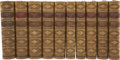 Books:First Editions, Henry Fielding. Leslie Stephen [editor]. The Works of HenryFielding, Esq. London: Smith, Elder & Co., 1882.... (Total:10 Items)