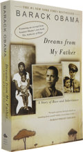 Books:Signed Editions, Barack Obama. Dreams of My Father. New York: Three Rivers Press, [2004]....