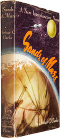 Books:Signed Editions, Arthur C. Clarke. Sands of Mars. New York: Gnome Press,[1952]....