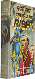 Books:Signed Editions, Arthur C. Clarke. Against the Fall of Night. New York: Gnome Press, [1953]....