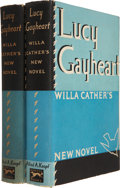 Books:First Editions, Willa Cather. Lucy Gayheart. New York: Alfred A. Knopf,1935.... (Total: 2 Items)