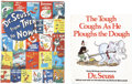 Books:Signed Editions, [Dr. Seuss]. Two Signed Dr. Seuss-Related Books, including:...(Total: 2 Items)