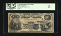 National Bank Notes:Virginia, Farmville, VA - $10 1882 Date Back Fr. 545 The First NB Ch. # (S)5683. ...