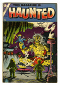 Golden Age (1938-1955):Horror, This Magazine Is Haunted #21 (Charlton, 1954) Condition: VG+....