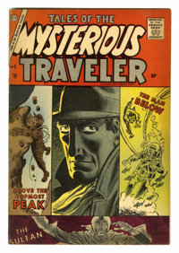 Tales of the Mysterious Traveler #5 (Charlton, 1957) Condition: FN