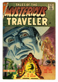 Silver Age (1956-1969):Horror, Tales of the Mysterious Traveler #3 (Charlton, 1957) Condition:VG/FN....