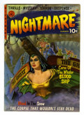 Golden Age (1938-1955):Horror, Nightmare #1 (Ziff-Davis, 1952) Condition: FN-....