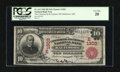 National Bank Notes:Maryland, Baltimore, MD - $10 1902 Red Seal Fr. 613 The Commercial &Farmers NB Ch. # (E)1303. ...