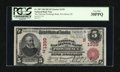 National Bank Notes:Rhode Island, Providence, RI - $5 1902 Red Seal Fr. 587 The National ExchangeBank Ch. # (N)1339. ...
