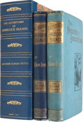 Books:First Editions, Arthur Conan Doyle. First Editions of Two Sherlock Holmes Books,including: The Adventures of Sherlock Holmes. Londo...