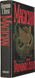 Books:Signed Editions, Raymond E. Feist. Magician. Garden City: Doubleday, 1982.First edition. Signed by Feist....