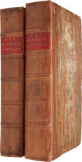 Books:Non-American Editions, Samuel Johnson. The Rambler. London: Payne & Bouquet,1750-1752.... (Total: 2 Items)