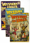 Golden Age (1938-1955):Science Fiction, Mystery in Space #9, 11, and 38 Group (DC, 1952-57) Condition:Average VG.... (Total: 3 Comic Books)