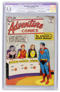 Silver Age (1956-1969):Superhero, Adventure Comics #247 (DC, 1958) CGC Apparent VG- 3.5 Slight (P) Off-white to white pages....