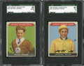 Miscellaneous Collectibles:General, 1933 Sport Kings Gum SGC Graded Group Lot Of 2....