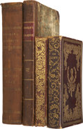 Books:First Editions, [Edgar Allan Poe]. Four Books Containing the First Appearances ofSeveral of Poe's Writings, including:... (Total: 4 Items)