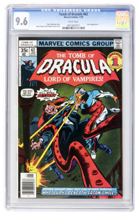 Tomb of Dracula #62 (Marvel, 1978) CGC NM+ 9.6 White pages