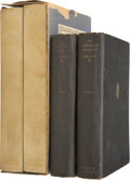 Books:Signed Editions, Theodore Dreiser. An American Tragedy - Two Signed Sets.Boni & Liveright, 1925. The limited edition of 795 copi...(Total: 4 Items)