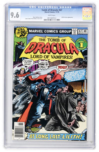 Tomb of Dracula #67 (Marvel, 1978) CGC NM+ 9.6 White pages