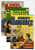 Silver Age (1956-1969):Romance, First Romance #2 and 50-52 File Copies Group (Harvey, 1949-58)Condition: Average VF.... (Total: 4 Comic Books)