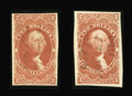 Stamps, $2 Conveyance & Mortgage, Imperforate (R81-2a),...