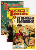 Golden Age (1938-1955):Romance, Hi-School Romance Plus File Copies Group (Harvey, 1955-63)Condition: Average VF+.... (Total: 18 Comic Books)