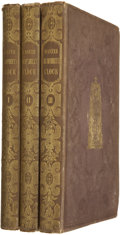 Books:First Editions, Charles Dickens. Master Humphrey's Clock. London: Chapmanand Hall, 1840-1841.... (Total: 3 Items)