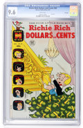 Bronze Age (1970-1979):Humor, Richie Rich Dollars and Cents #50 File Copy (Harvey, 1972) CGC NM+9.6 White pages....