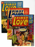 Golden Age (1938-1955):Romance, First Love Illustrated File Copies Group (Harvey, 1951-55)Condition: Average VF.... (Total: 7 Comic Books)