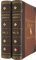 Books:Non-fiction, [William Cullen Bryant, editor]. Picturesque America; or, theLand We Live In. New York: D. Appleton and Co., 1872, ...(Total: 2 Items)