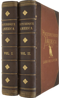 [William Cullen Bryant, editor]. Picturesque America; or, the Land We Live In. New York: D. App
