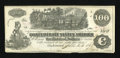 Confederate Notes:1862 Issues, T39 $100 1862 Issued at San Antonio.. ...