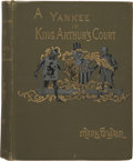Books:First Editions, Mark Twain. A Connecticut Yankee in King Arthur's Court. NewYork: Charles L. Webster & Company, 1889. First edi...