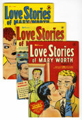 Golden Age (1938-1955):Romance, Love Stories of Mary Worth #3-5 File Copies Group (Harvey, 1950)Condition: Average VF+.... (Total: 3 Comic Books)