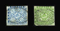 Stamps, 3p & 6p Pence Issue (2 & 4),...