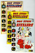 Bronze Age (1970-1979):Cartoon Character, Hot Stuff Sizzlers File Copies Group (Harvey, 1962-73) Condition:Average NM-.... (Total: 5 Comic Books)