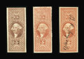Stamps, $5 Charter Party, Manifest, & Mortgage, Imperforate (R88a//R91a),...