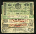 Confederate Notes:Group Lots, Counterfeiter's Delight.. ... (Total: 5 notes)
