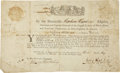 "Autographs:Statesmen, Stephen Hopkins Document Signed ""Step. Hopkins"" as""Governor and Captain-General of the English Colony of RhodeIsland..."