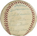 Autographs:Baseballs, 1948 Philadelphia Phillies Team Signed Baseball....