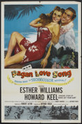 """Movie Posters:Musical, Pagan Love Song (MGM, 1950). One Sheet (27"""" X 41""""). Musical.. ..."""