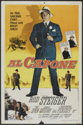 "Movie Posters:Crime, Al Capone (Allied Artists, 1959). One Sheet (26.75"" X 40.5"").Crime.. ..."