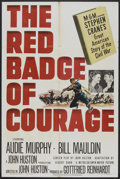 "Movie Posters:War, The Red Badge of Courage (MGM, 1951). One Sheet (27"" X 41""). War....."