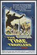 "Movie Posters:Science Fiction, The Time Travelers (American International, 1964). One Sheet (27"" X41""). Science Fiction.. ..."