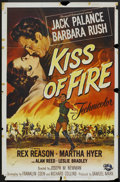 "Movie Posters:Adventure, Kiss of Fire (Universal, 1955). One Sheet (27"" X 41""). Adventure....."