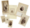 Photography:CDVs, [Nineteenth Century] Group of Seven Cartes de Visite and Cabinet Cards, including, CDVs of: Second Assistant... (Total: 7 Items)