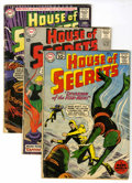 Silver Age (1956-1969):Mystery, House of Secrets Group (DC, 1961-64) Condition: Average VG....(Total: 8 Comic Books)
